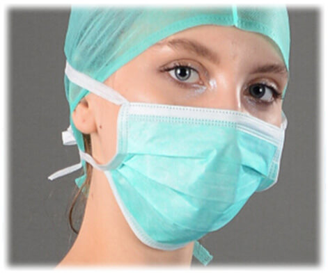 Surgical Face Mask with Ties fvsurgical