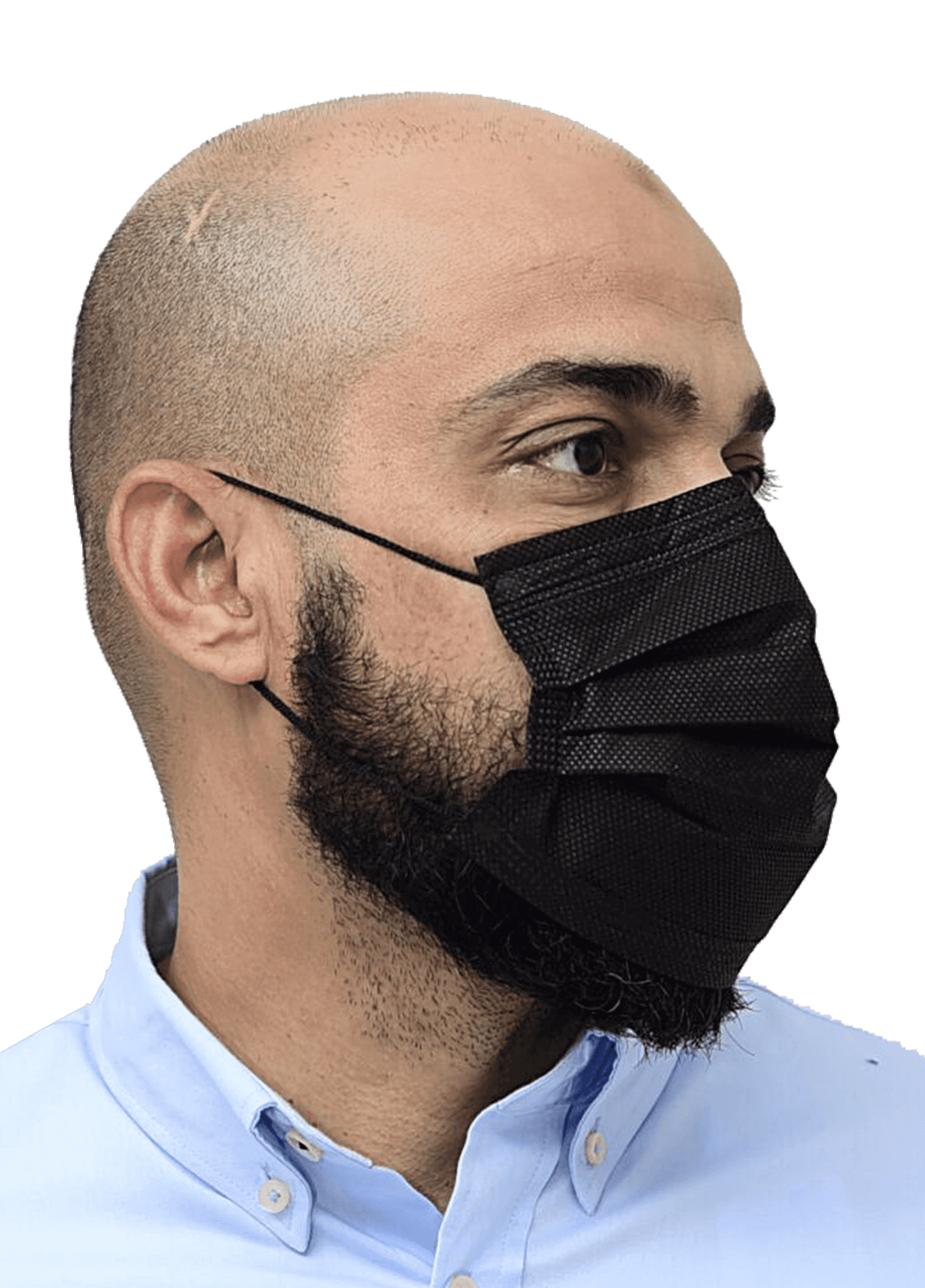 3 Ply Face Mask Without Filter Black