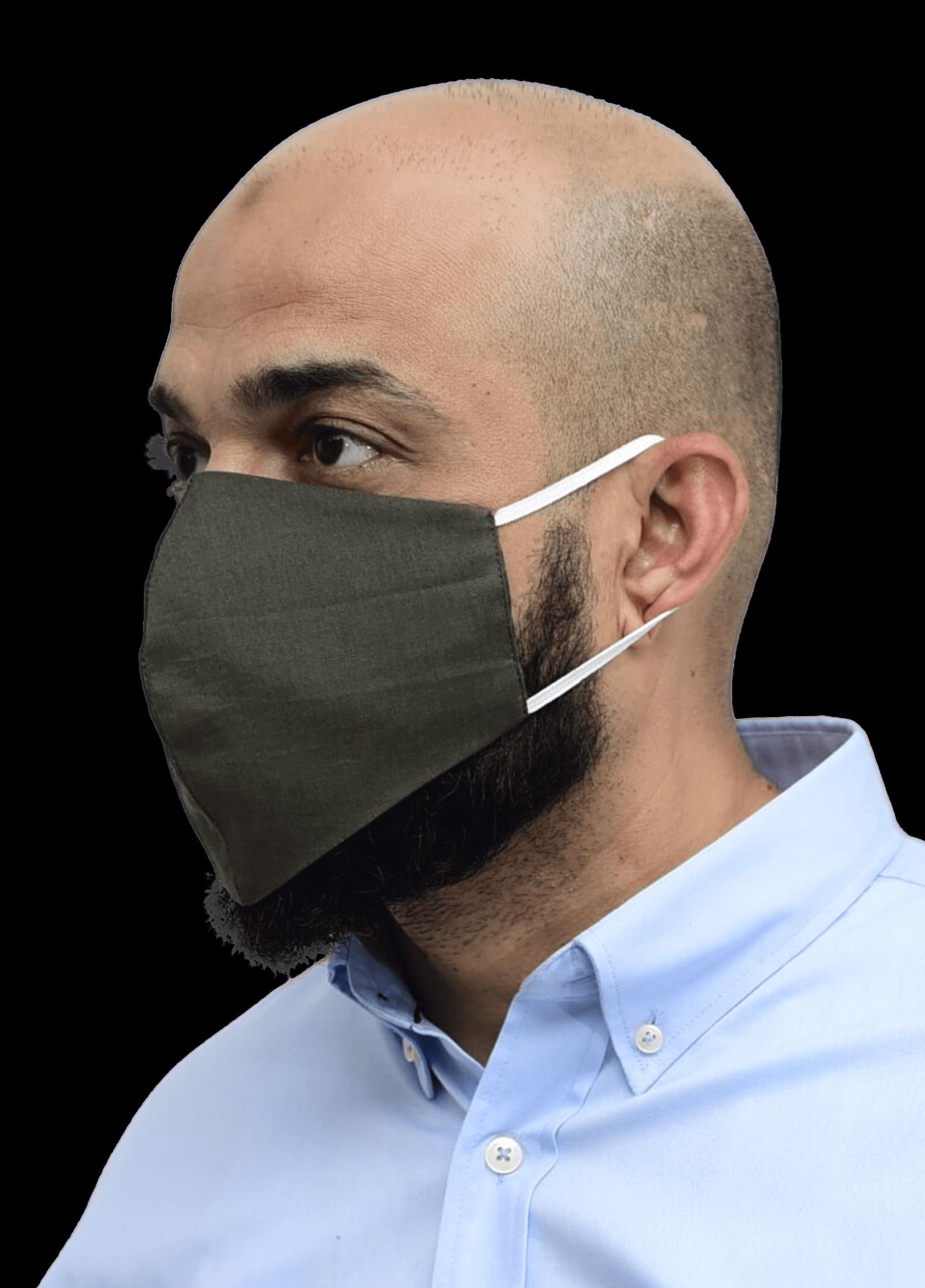 Nanofiber Filter Face Mask Green