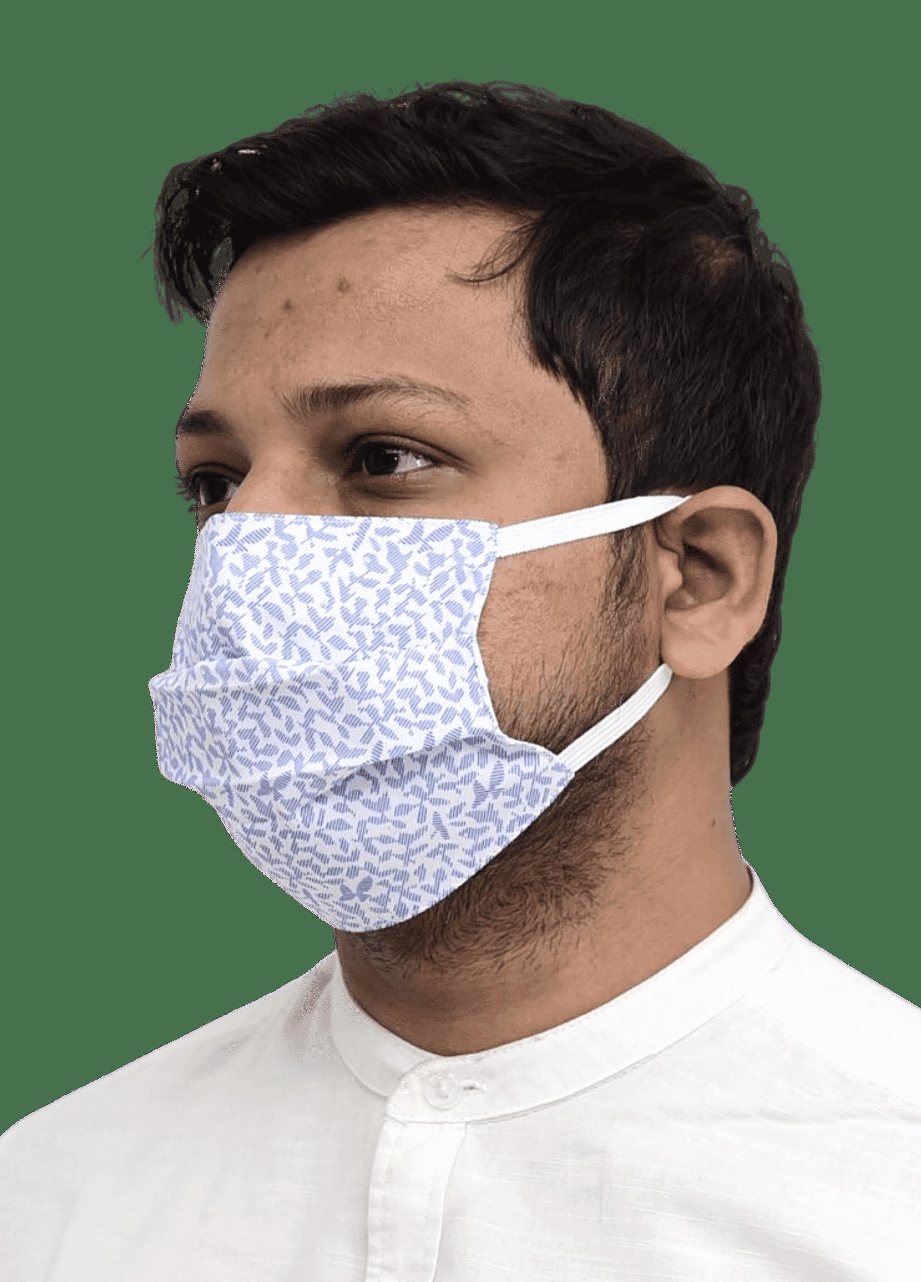 Printed Nanofiber Mask with Elastic